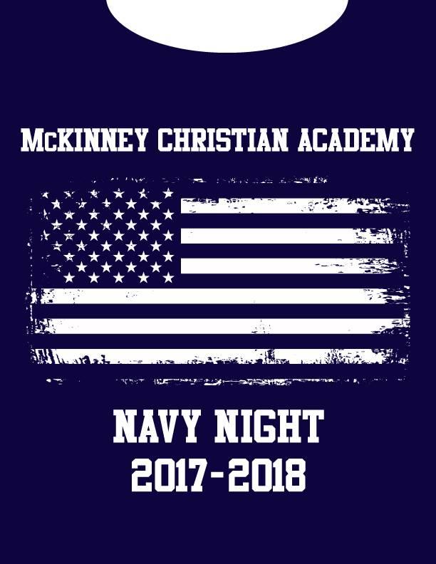 Gildan Navy Night Shirt-2017