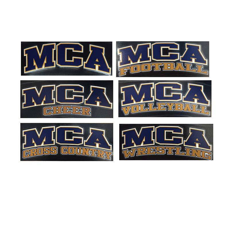 MCA NAVY Car Decals