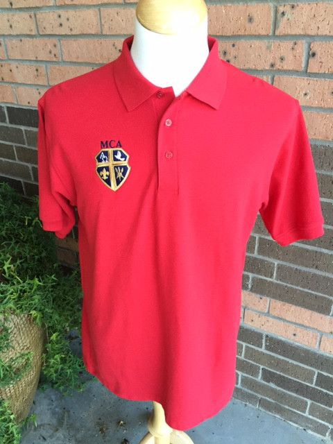 Elderwear Polo Short Sleeve - Red Youth
