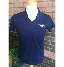 Nike Navy NIKE Polo Uniform Shirt-Ladies