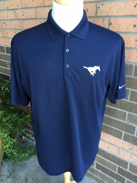 Navy NIKE Polo Uniform Shirt-Men s - MCA Spirit Shop 0e339c692