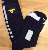 Red Lion MCA Socks-Navy Nike Style