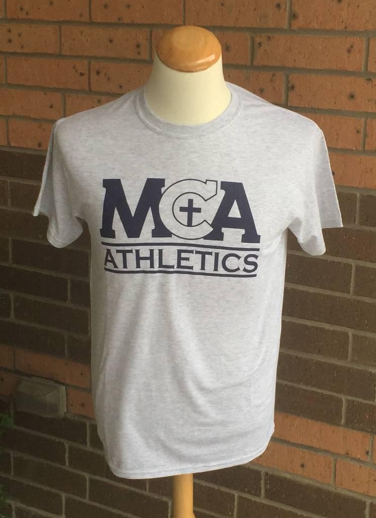 Gildan Athletic MS Only Cotton T-shirt Gray