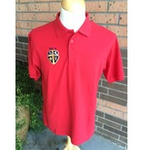 Elderwear Polo Short Sleeve Red Adult