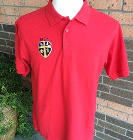 Elderwear Polo Short Sleeve Red Adult