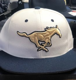 Victory Custom Athletic MCA WHITE Baseball Hats