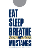 Comfort Colors Eat, Breathe Mustang-ADULT