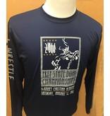 Sportek Wrestling LS Navy Shirts