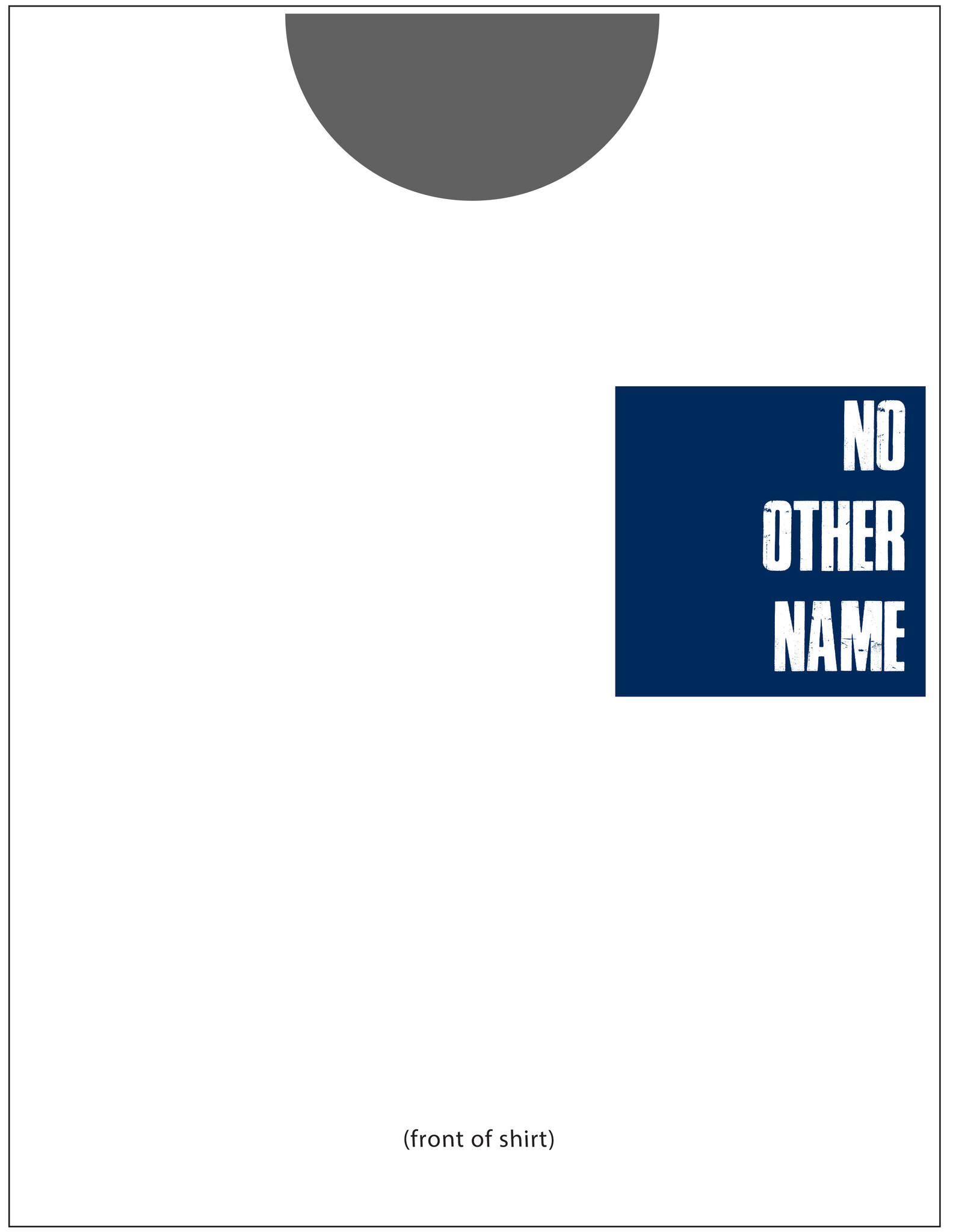Comfort Colors No Other Name-WHITE S/S-YOUTH