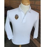 Elderwear Polo Long-Sleeve White Youth-discontinued