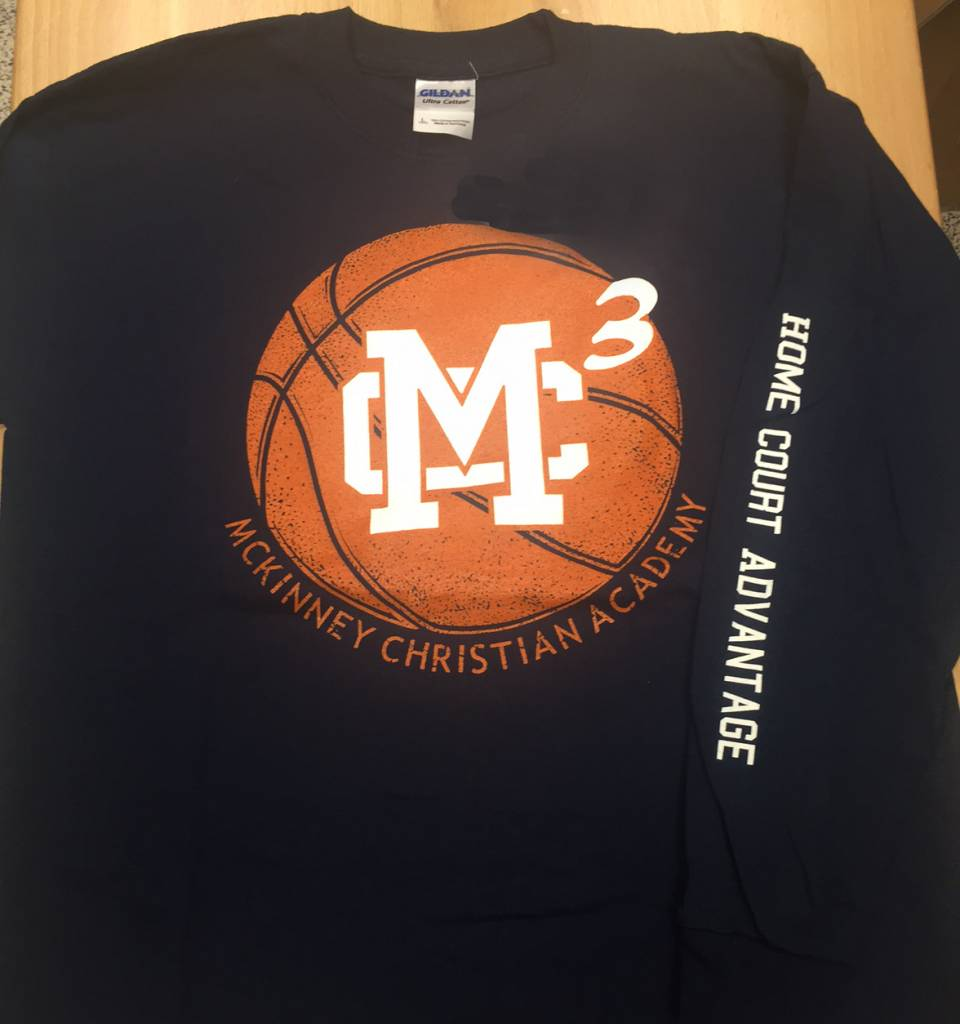 MC3 Long-Sleeve Basketball T-shirt