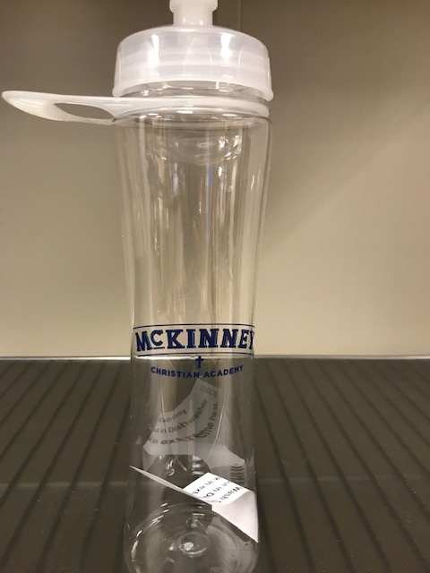 MCA Clear Water Bottle