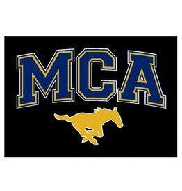 Stouse MCA Mustang Car Decal