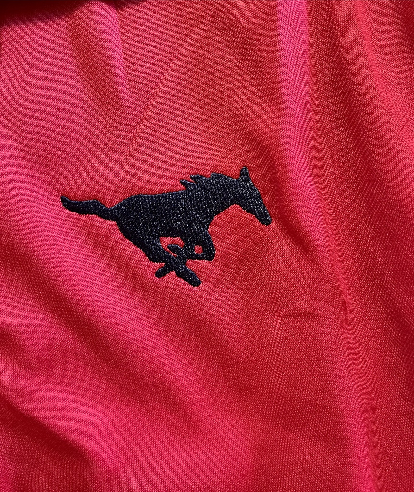 Port Authority RED Adult Polos-DRIFIT