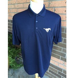 Port Authority Navy Youth Polos