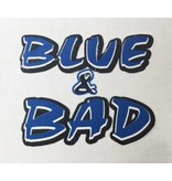 MCA Face Tattoos-Blue&Bad