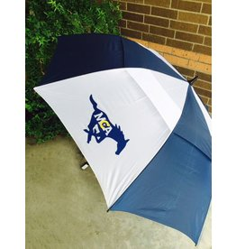 "Tornado MCA  Solid Navy Umbrella-83"" Vented"