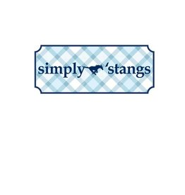 Comfort Colors Simply Stangs T-Shirt