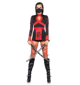 Leg Avenue COSTUME ADULTE NINJA DRAGON