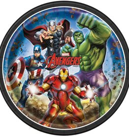 Unique ASSIETTES 9'' (8) - AVENGERS