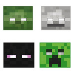 Unique *MASQUES (8) - MINECRAFT