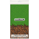 Unique *NAPPE EN PLASTIQUE - MINECRAFT