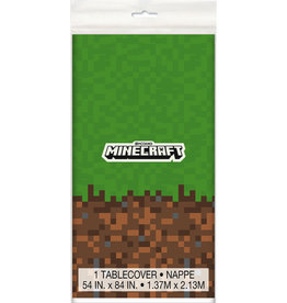 Unique NAPPE EN PLASTIQUE - MINECRAFT