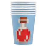 Unique *VERRE 9OZ (8) - MINECRAFT