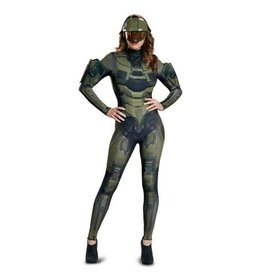 Disguise COSTUME ADULTE FEMME MASTER CHIEF