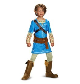 Disguise *COSTUME ENFANT LINK - THE LEGEND OF ZELDA - BREATH OF THE WILD -