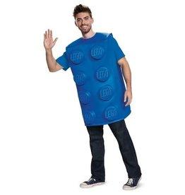 Disguise COSTUME ADULTE BRIQUE LEGO BLEU