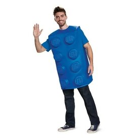 Disguise COSTUME ADULTE BRIQUE LEGO BLEU