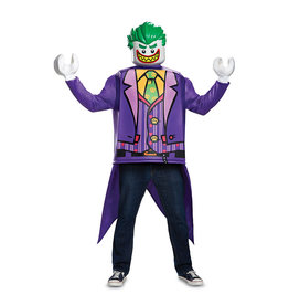 Disguise COSTUME ADULTE LEGO BATMAN - JOKER