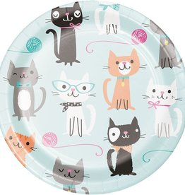 "Creative Converting ASSIETTES 7"" (8) - CHATON MIGNON"