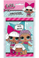Unique INVITATIONS (8) - LOL SURPRISE!