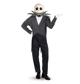 Disguise COSTUME ADULTE JACK SKELLINGTON DELUXE XL