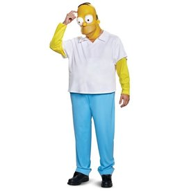 Disguise COSTUME ADULTE HOMER SIMPSON DELUXE