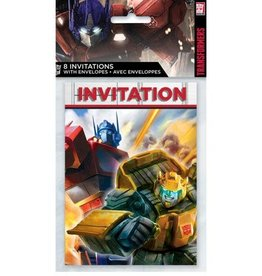 Unique INVITATIONS TRANSFORMERS (8)