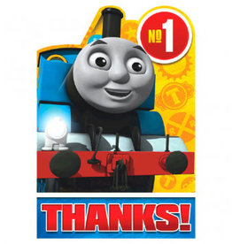 Amscan CARTE DE REMERCIEMENTS THOMAS LE TRAIN (8)