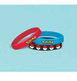 Amscan BRACELETS (6) - POKEMON & FRIENDS