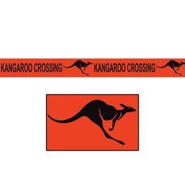 Beistle Co. TAPE  ORANGE 50PI - KANGOROO CROSSING
