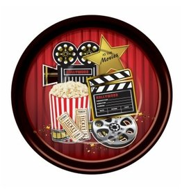 Forum Novelty ASSIETTES 9'' (8) - HOLLYWOOD
