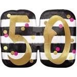 Anagram BALLON MYLAR SUPERSHAPE - 50 ANS GLAMOUR