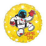 Anagram BALLON MYLAR 18PO - ASTRONAUTE GAME ON