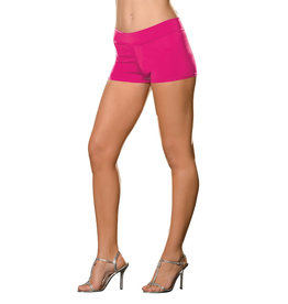 Dreamgirl HOT SHORT EXTENSIBLE HOT PINK S-M
