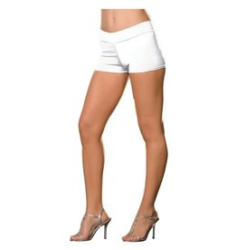 Dreamgirl HOT SHORT EXTENSIBLE BLANC S-M