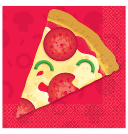 Amscan SERVIETTES COCKTAIL - PIZZA (16)