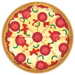 Amscan ASSIETTES 7'' (8) - PIZZA