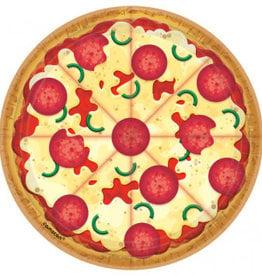 Amscan *ASSIETTES 7'' (8) - PIZZA