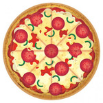 Amscan ASSIETTES 9'' - PIZZA